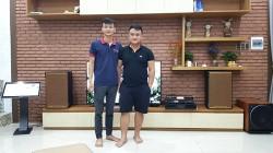 Bộ dàn cao cấp của gia đình anh Cường tại Đà Nẵng