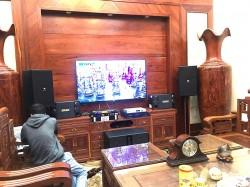 Bộ dàn karaoke cao cấp của gia đình cô Diệp, ở Ngô Quyền - Hải Phòng