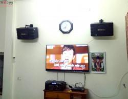 Bộ dàn karaoke gia đình giá rẻ cho anh Dương tại Gia Lâm, HN (BIK BJ668, PA-203 Gold Bluetooth, U900 Plus)