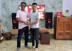 Bộ dàn karaoke hay của gia đình chị Hằng, sống tại Cẩm Lệ Đà Nẵng (BIK BP-S35, BW 604 No8, 506 Gold Limited, BCE UGX12)