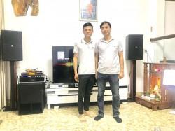 Bộ dàn karaoke VIP của gia đình anh Nghiêm tại Huế