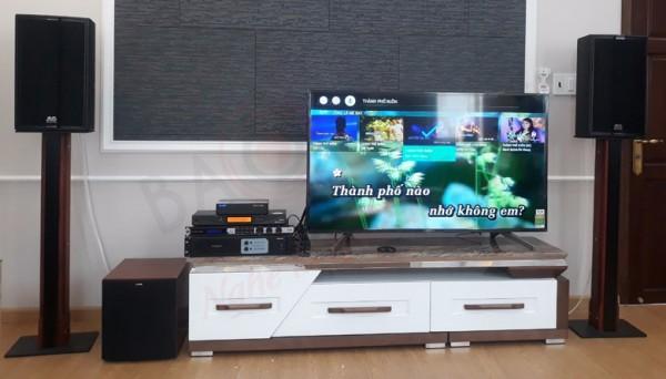 Cách bố trí loa hát karaoke phù hợp cho phòng hát gia đình