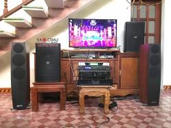 Dàn âm thanh nghe nhạc và hát karaoke cho gia đình anh Bình tại Quảng Ninh