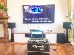Dàn âm thanh nghe nhạc và karaoke gia đình hay cho anh Vinh tại Hà Đông