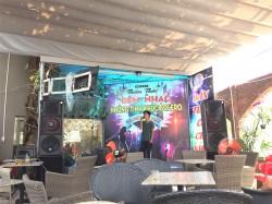 Dàn âm thanh ngoài trời của quán cafe Thiên Thai ở Đồng Nai ( Catking 2.5, Catking VF 151, MG12XU, jarguar 305)