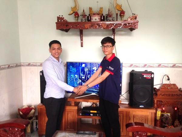Dàn karaoke Alto cực hay cho gia đình anh Bồng ở Trảng Dài - Biên Hoà