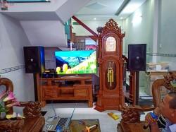 Dàn karaoke BF cực hay cho gia đình anh Hậu sống tại Bình Tân, HCM