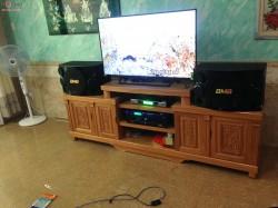 Dàn karaoke BMB của gia đình anh Tú sống ở Thuận An (BMB CSE 312, J-500, BF Audio K7, BCE UGX12)