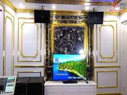 Dàn karaoke chuyên nghiệp của gia đình anh Sỹ sống tại chung cư Goldmark City ( Domus 6100, Famous 7406, JBL KX180, Domus 15W, Relacart U900, Plus 4TB