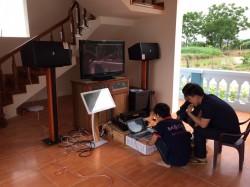 Dàn karaoke Domus cao cấp cho gia đình tại Ninh Bình