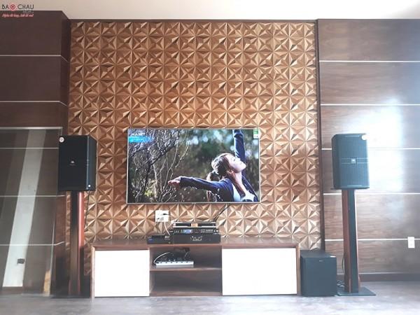 Dàn karaoke JBL của gia đình anh Đạt - sống ở Tân Tiến - Biên Hoà- Đồng Nai