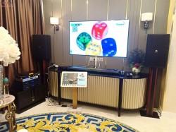 Dàn karaoke VIP gần 90 triệu của gia đình chị Hà Lan sống tại Quận 1, HCM