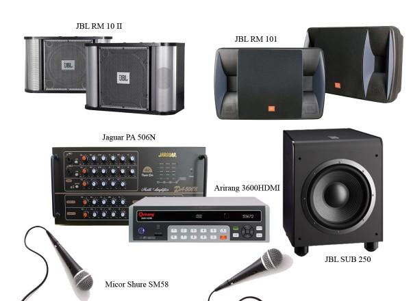 Ghép những thiết bị âm thanh tạo nên dàn karaoke hay chuyên nghiệp