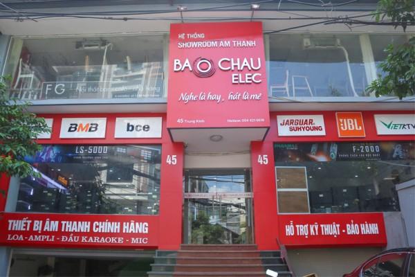 Giới thiệu về siêu thị âm thanh Bảo Châu elec Hà Nội