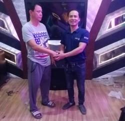 Lắp đặt bộ dàn karaoke hơn 100 triệu cho gia đình chú Lanh tại Hải Phòng