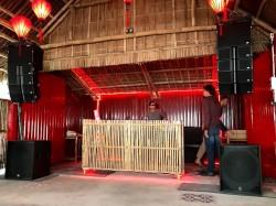 Lắp đặt dàn âm thanh giải trí line array tại nhà hàng Opio Hội An - Quảng Nam ( AS MHL26, AS MHL26SUB, BF V18S, 223XS, EFX12, VIP-3000, Q10)