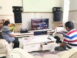 Lắp đặt dàn karaoke cao cấp cho anh Trí ở Thăng Bình - Quảng Nam (JBL 6015, JBL 6018, Crown T10, JBL KX180, BMB WB4500)