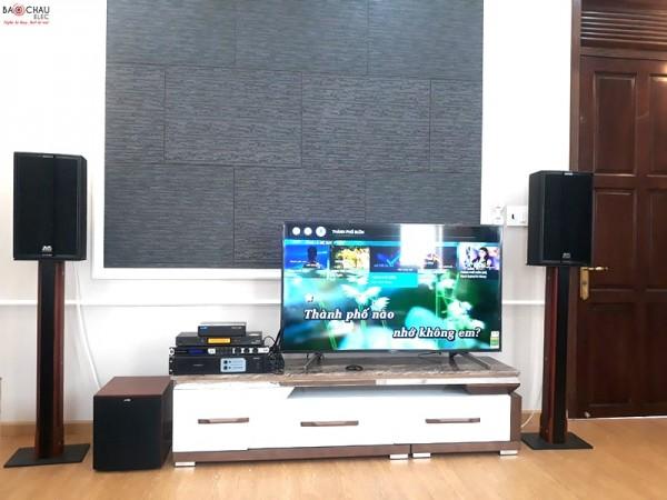 Lắp đặt dàn karaoke cao cấp của gia đình anh Bình - sống ở Trảng Bom - Đồng Nai