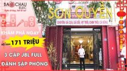 Lắp đặt dàn karaoke chuyên nghiệp VIP nhà hàng Sơn Quyền - Vũ Phạm Hàm (HN)