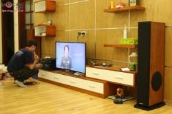 Lắp đặt dàn karaoke gia đình giá rẻ tại Linh Đàm