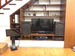 Lắp đặt dàn karaoke JBL 48 triệu cho anh Thắng ở Mai Hắc Đế - HN (JBL MK12, Crown T5, JBL KX180, AR-3600WTK 3TB, BCE UGX12 Plus)