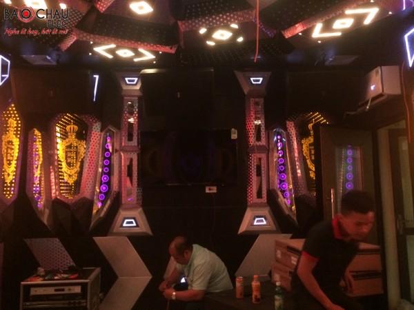 Lắp đặt dàn karaoke kinh doanh Vip cho quán Bảo Bảo tại Bắc Ninh