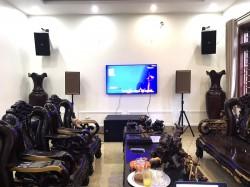 Lắp đặt dàn karaoke VIP cho biệt thự gia đình anh Huy ở Lục Nam - Bắc Giang