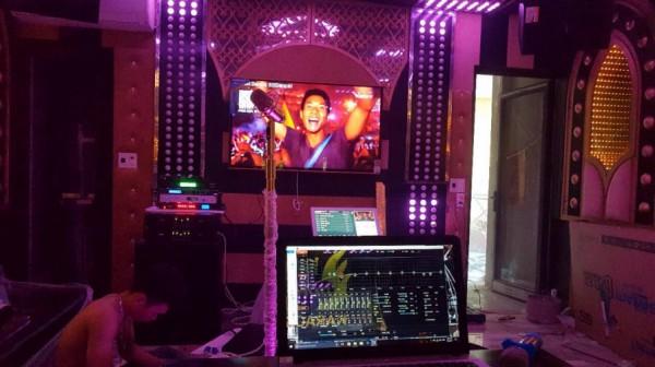 Lắp đặt hệ thống 10 phòng hát karaoke chuyên nghiệp cho quán karaoke Noke tại HCM