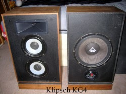 Loa Klipsch KG4- cặp loa huyền thoại một thời của Klipsch