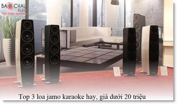 Những mẫu loa jamo karaoke cực hay giá chỉ dưới 20 triệu đồng
