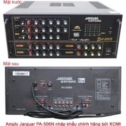 Tổng hợp những kiến thức bạn cần biết về Amply karaoke Jarguar 506N