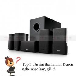 Top 3 dàn âm thanh mini Denon nghe nhạc hay