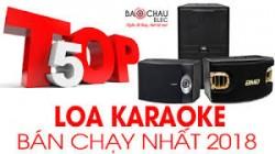 Top 5 loa karaoke bán chạy tại Bảo Châu elec năm 2018