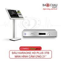 Combo VietKTV HD Plus 3TB + Màn hình 21