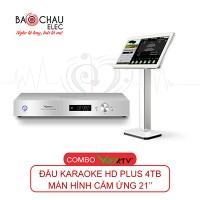 Đầu Karaoke Việt KTV HDPlus 4TB + Màn hình 21inch