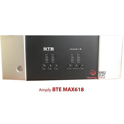 Amply BTE MAX618
