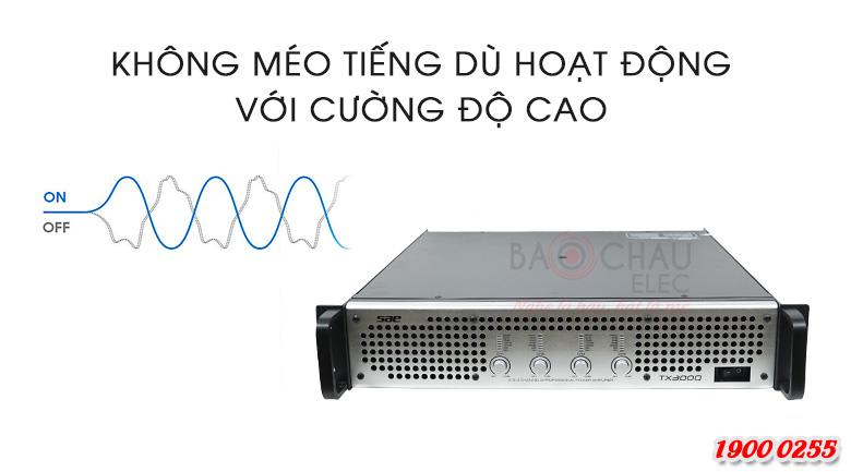 Cục đẩy công suất SAE TX300Q tính năng 4