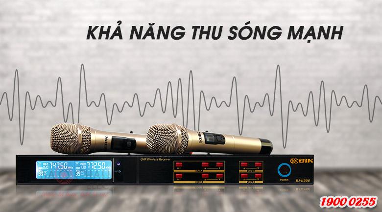 Micro BIK BJ U550 chống hú, lọc âm tốt
