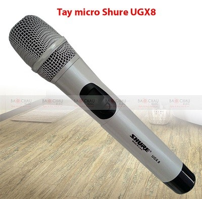 Tay micro không dây Shure UGX8