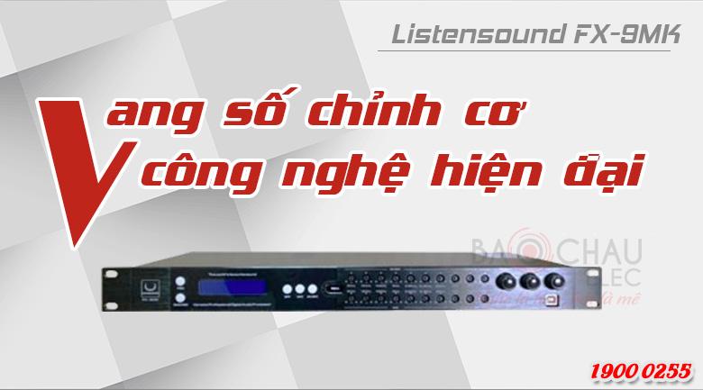 Vang số chỉnh cơ Listensound FX-9MK tính năng
