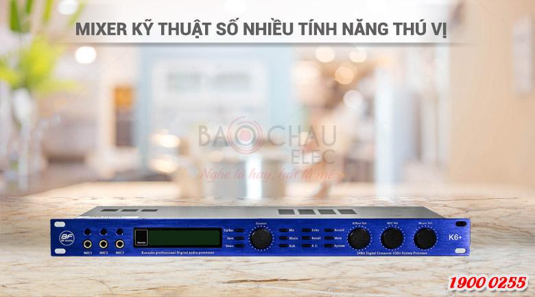 Vang số karaoke BF Audio k6+ tính năng