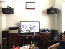 Bộ dàn karaoke BMB cực hay của gia đình chú Quang ở Đình Thôn - HN