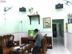 Bộ dàn karaoke BMB trị giá 24 triệu của gia đình anh Trọng ở Bình Dương (BMB 880C, SAE PKM 6.5, FX-9MK,  BBS B900)