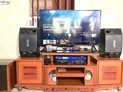 Bộ dàn karaoke BMB trị giá hơn 29 triệu cho gia đình anh Hải ở Hải Phòng (BMB 880C, 604No8, SAE CT6000, K6, U900 Plus)