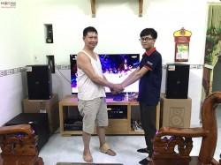 Bộ dàn karaoke Domus cực hay tại Biên Hoà, Đồng Nai (Domus 6120, sub 1000new, BCE 6200, JBL KX180, UGX12 Plus)