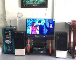 Bộ dàn karaoke JBL của gia đình anh Chuyên sống ở Bình Dương (JBL Ki82, PKM 6.5, BF K6, BBS B900)