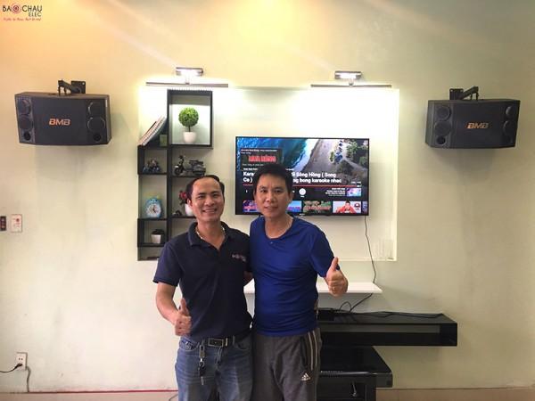 Dàn karaoke BMB của gia đình chị Thêu ở Hải Phòng (BMB 880C, SAE CT6000, BF K6, BCE UGX12)