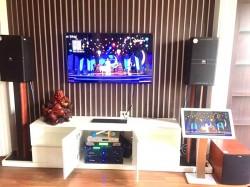 Dàn karaoke cao cấp của gia đình anh Duy ở TP. Bắc Ninh (JBL 4010, BIK 968, Jamo J10, Crown T3, BF k7, Plus 4TB)
