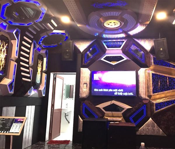 Hệ thống 9 phòng hát karaoke kinh doanh cho quán Thuỳ Dương ở Kiên Giang (JBL 4010, BMB 2010C, Ktwo10, Crown T3, Crown T5, JBL KX180, RXW 18C, BCE 920