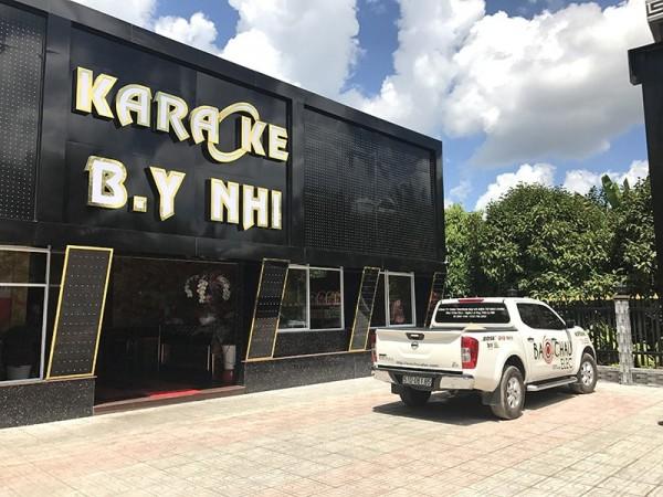 Lắp đặt 6 phòng hát karaoke kinh doanh B.y Nhi ở Tiền Giang